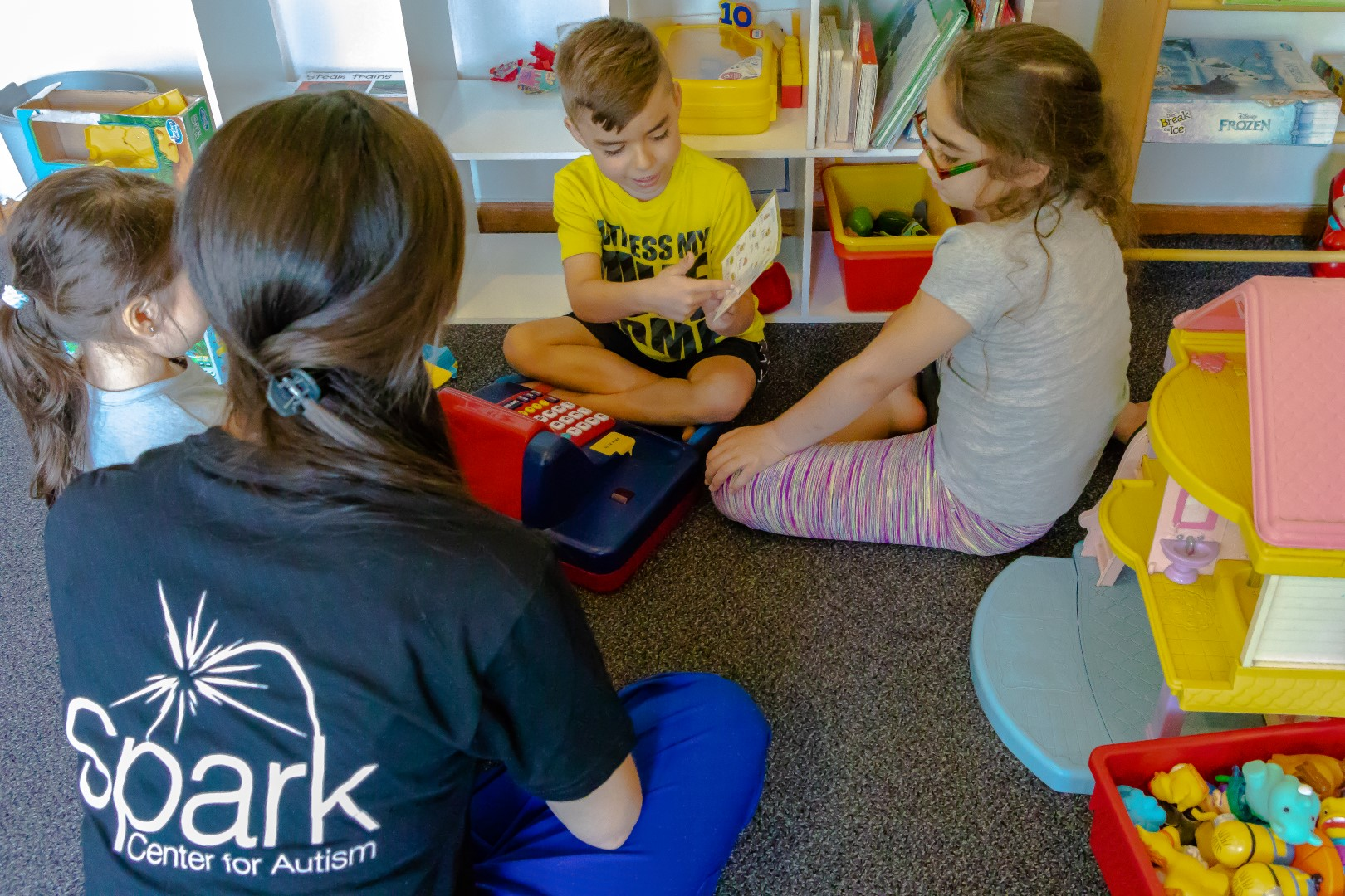 Spark Center for Autism - Sharing with the kids